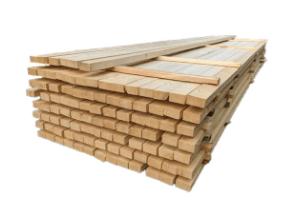 Tømmer til byggeri